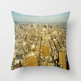 NEW YORK 4 Throw Pillow