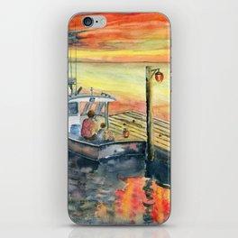 A Delightful Evening iPhone Skin