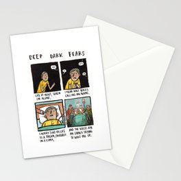 Deep Dark Fears 151 Stationery Cards