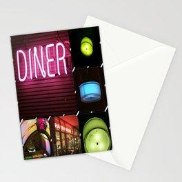Diner Stationery Cards