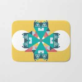 Biconic repetition Bath Mat