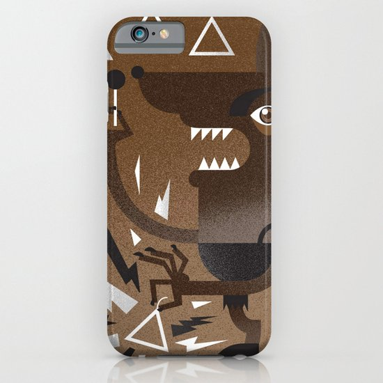 """Wolf"" Monster Rock iPhone & iPod Case"