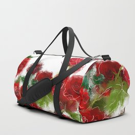Red roses Duffle Bag