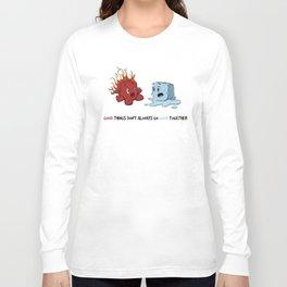 Fire & Ice by dana alfonso Long Sleeve T-shirt