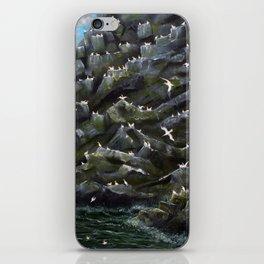 Gannet Isle iPhone Skin