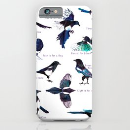 The Magpie Rhyme iPhone Case