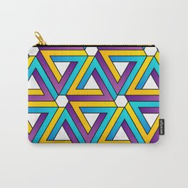 The Penrose triangle optical illusion Carry-All Pouch