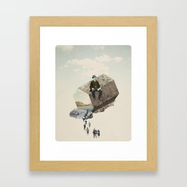 Exagon Framed Art Print
