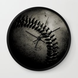 Baseball Dark Wall Clock