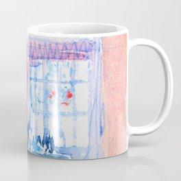 David Cox - A Tudor Room with Figures - Digital Remastered Edition Coffee Mug