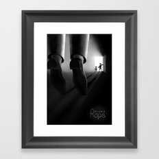 Reliable Rope Framed Art Print