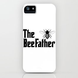 Beekeeping Funny Design - The BeeFather iPhone Case
