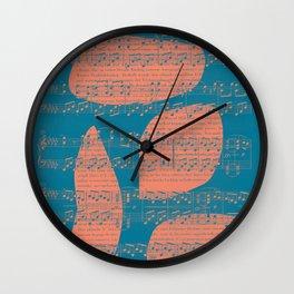 Schubert Sheet Music - Impromptu Wall Clock