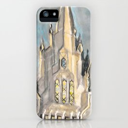 San Diego,CA LDS Temple Tie iPhone Case