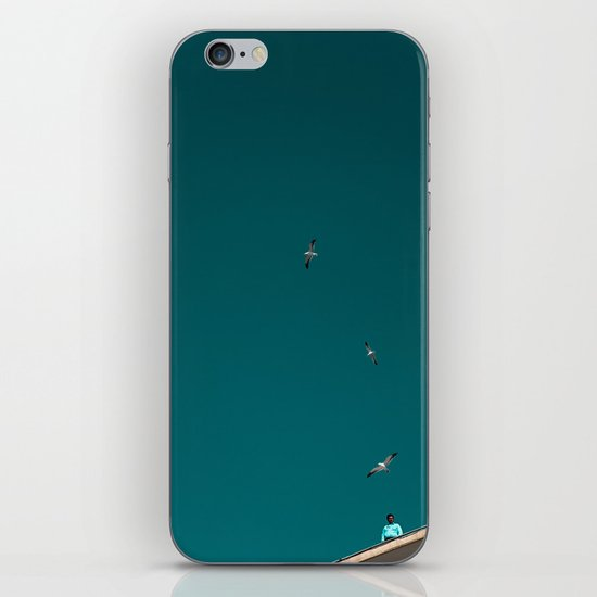 The Lord of the Seagulls iPhone & iPod Skin