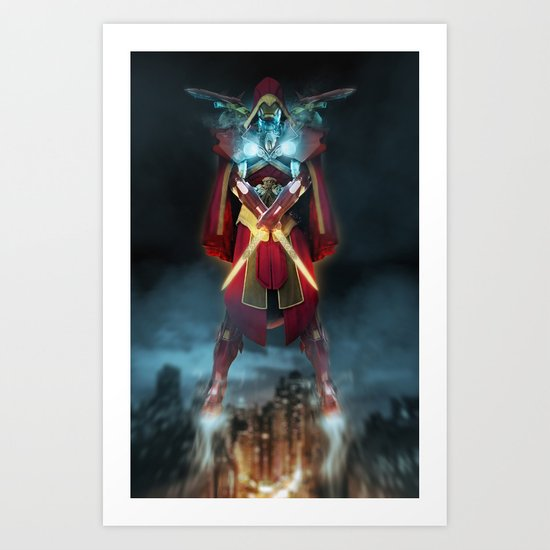 IRON MASH // Iron Creed  Art Print
