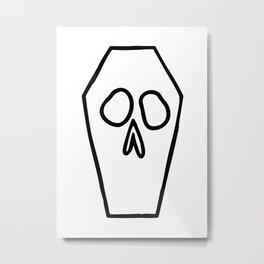 Casket Metal Print