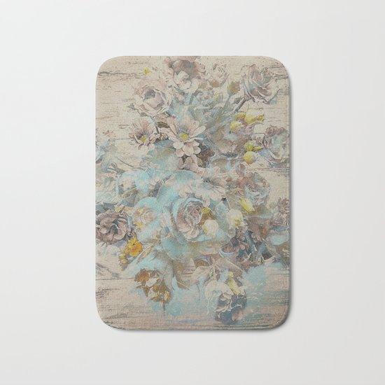 Moonflowers Bath Mat