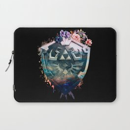 Floral Shield Laptop Sleeve