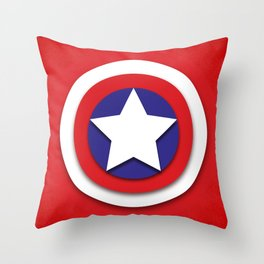 American Hero Throw Pillow