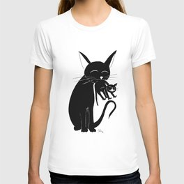 Mama Cat T-shirt