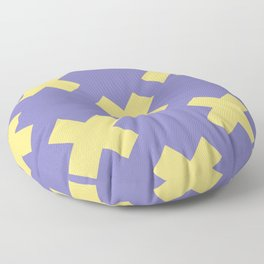 Geometric Pattern 21 Floor Pillow