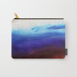 Ruby Tides - Original Abstract Art Carry-All Pouch
