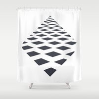 square Shower Curtains featuring Square by henrymade