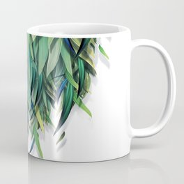 """Spring Forest of Surreal Leaf"" Coffee Mug"