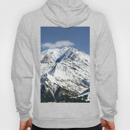 Mt. Blanc with clouds Hoody