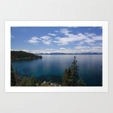 Clear Water Art Print