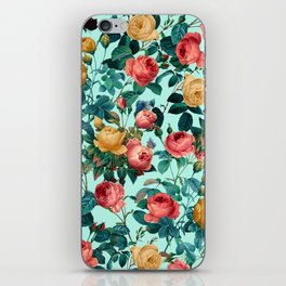 Spring-Summer Botanical Pattern II iPhone Skin