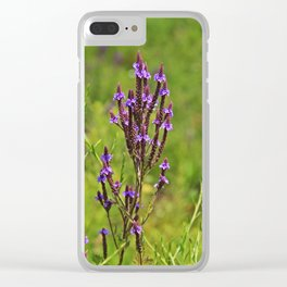 Wonderfully Wild Clear iPhone Case
