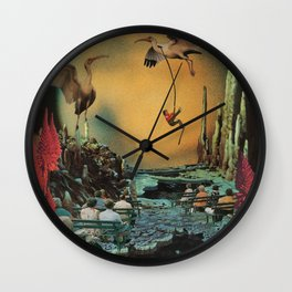 Licorice Icarus Wall Clock