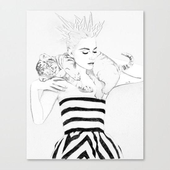Girl Crush #1 - Erika Bearman Canvas Print