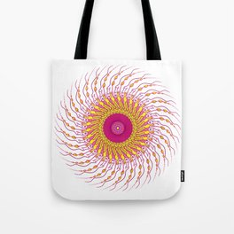 For when you enfold me in your complexities Tote Bag