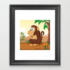 Three wise monkeys 3/3 Framed Art Print
