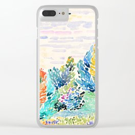 Spring arrived Clear iPhone Case