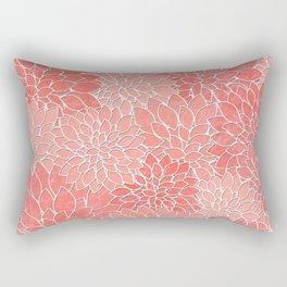 Floral Abstract 36 Rectangular Pillow