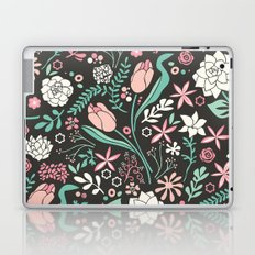 Tulip flowerbed Laptop & iPad Skin