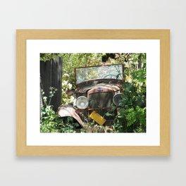 Past is Present 4 Framed Art Print