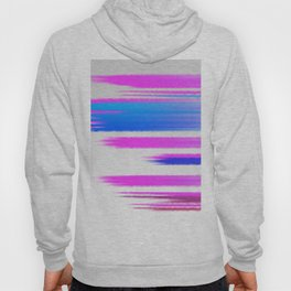 Abstract pink and blue Hoody