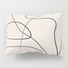 Abstract Line I Pillow Sham