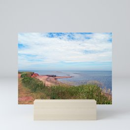 North Cape Sandbar PEI Mini Art Print