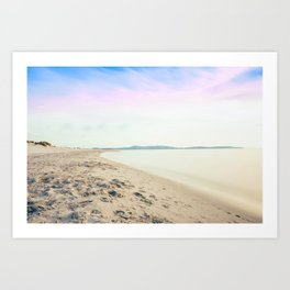 Sand, Sea and Sky - Relaxing Summertime Art Print