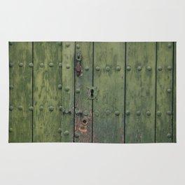 Green Door Rug