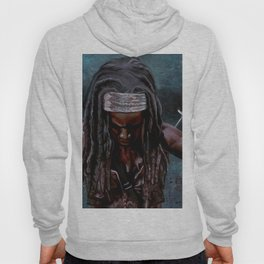 Michonne And Her Sword - The Walking Dead Hoody