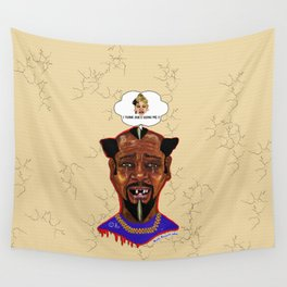 The Weakest Man On Earth Wall Tapestry