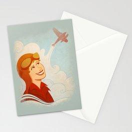 Amelia Earhart Stationery Cards