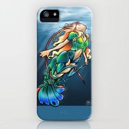 Mantis Shrimp Mermaid iPhone Case